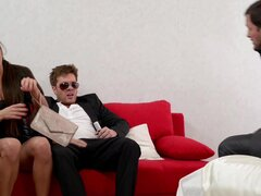 Mia Melone ass fucked and cream pied in front of her husband - Mia Melone